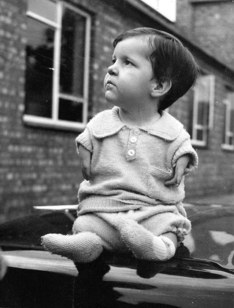Ed, aged 3
